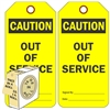 "<!0120>CAUTION,  6-1/4"" x 3"", Fluorescent Yellow, In-a-Box of 100"