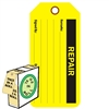 "<!010>REPAIR, 6-1/4"" x 3"", Fluorescent Yellow, In-a-Box of 100"