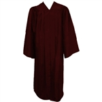Matte Maroon Choir Gown