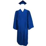 Matte Royal Cap, Gown and Tassel