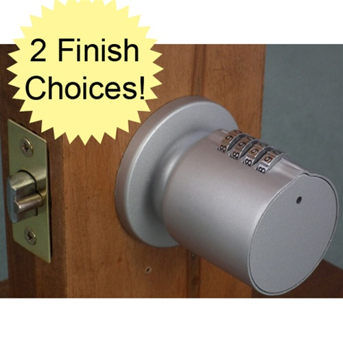 Bump proof keyless combination door knob lock 793573769008 free shipping