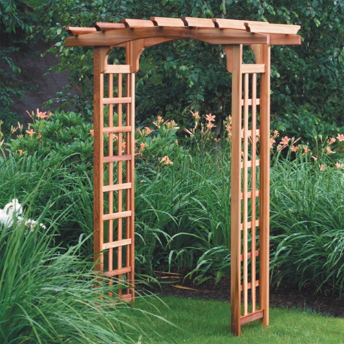 astoria cedar arbor kit free shipping. Black Bedroom Furniture Sets. Home Design Ideas