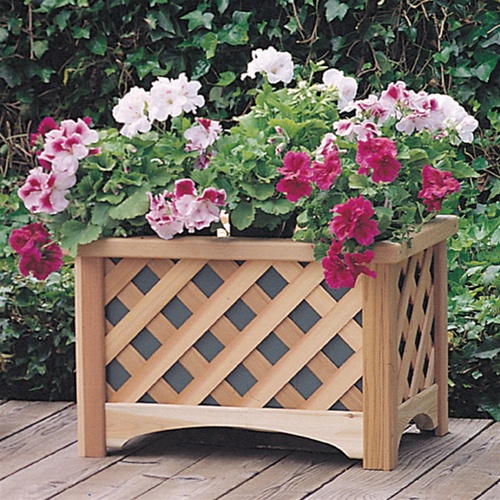 windsor rectangle outdoor planter box free shipping