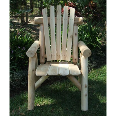 Cedar weatherproof garden furniture