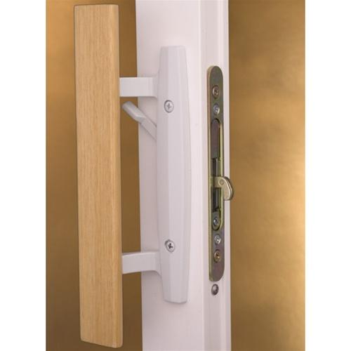 Sliding patio door hardware free shipping for Patio door handle lock