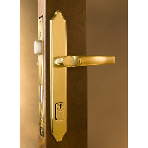 Storm door hardware mortise lock free shipping for Door handle with lock