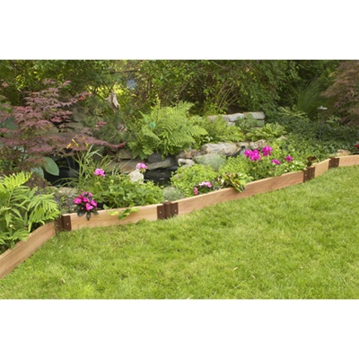 Recycled Garden Edging