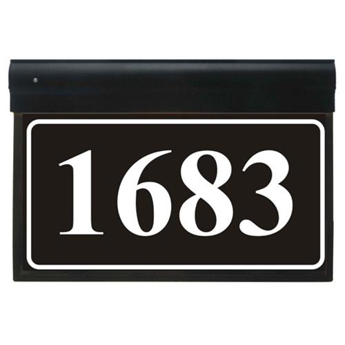 LED Illuminated Address Plaque : MDR-200 : Free Shipping!