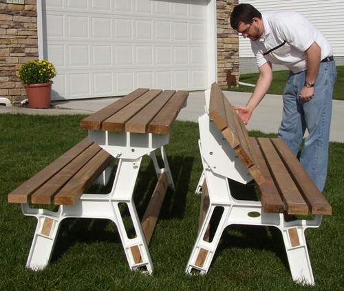 picnic table bench kit 1