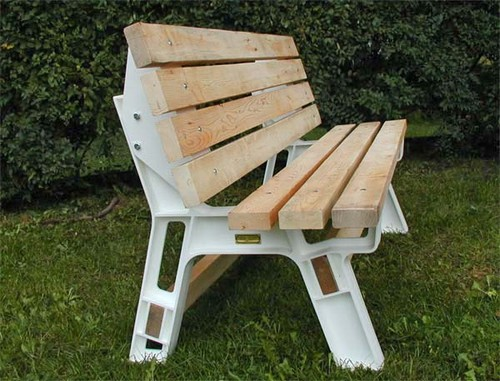 outdoor bench kits