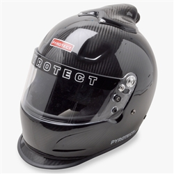 Pyrotect Pro Sport Full Face Top Forced Air Carbon Duckbill