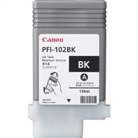 Canon PFI-102 Black Ink Cartridge