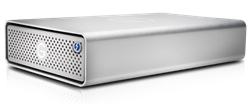 G-Technology G-DRIVE 6TB with Thunderbolt 3 and USB-C - 0G05368 prod_shot