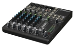 Mackie 802VLZ4 8-Channel Ultra Compact Mixer - P/N 2040767-00 3qtr_shot