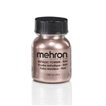 Mehron Metallic Powder: 1 oz. Rose Gold