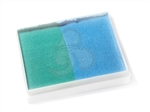 TAG Teal/Light Blue Split Cake