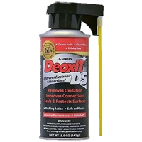 Caig Laboratories DeoxIT D5 Spray with Perfect-Straw