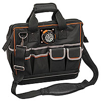 Klein Tools 55431 Tradesman Pro Organizer Lighted Tool Bag