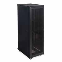 "Kendall Howard 3107-3-001-42 42U LINIER Server Cabinet - Vented/Vented Doors - 36"" Depth"