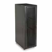 "Kendall Howard 3110-3-001-42 42U LINIER Server Cabinet - Convex/Vented Doors - 36"" Depth"