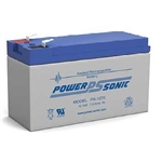 Powersonic PS-1270 12 Volt 7 amp hour Sealed Lead Acid Battery