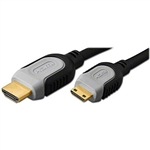 HDMI to HDMI Mini C Type Cable by Pan Pacific