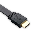 SR Components CHHF10B HDMI Cable, Male to Male Flat 10ft.