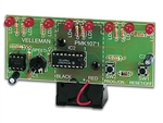 Velleman MK107 LED Running Light Electronics Kit