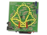 Velleman MK122 83 LED Animated Bell Electronics Kit