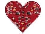 Velleman MK144 SMD Flashing Heart Electronics Kit
