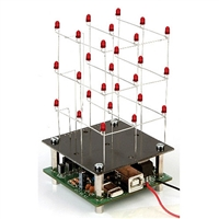 Velleman MK193 3D LED Cube Electronics Kit