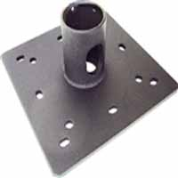 "VMP CP-1PT Ceiling Plate for Standard 1.5"" NPT Pipe with Cable Pass-Through"