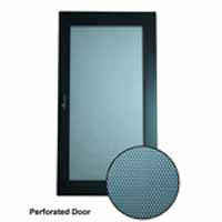 VMP ERENPD-18 Perforated Steel Door - 18U