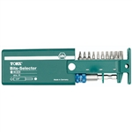 Wiha 79245 Selector Set, Torx Bits with Auto Lock Magnetic Bit Holder
