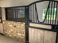 STABLE DOOR WITH SIDE GRILLE