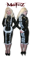 PVC PADLOCK PENCIL STRAIT JACKET MAIDS