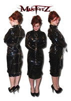 DELUXE PVC  STRAITJACKET DRESS