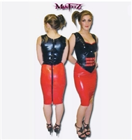 LATEX SWEETHEART CORSET TOP