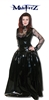 PVC AND SPIDERWEB GOTHIC BALLGOWN