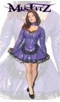PURPLE PVC SWEETHEART MAIDS