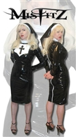 PVC STRAIT JACKET NUNS UNIFORM
