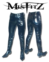 MENS PVC TIGHT FIT JEANS