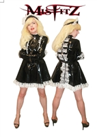 MISFITZ DELUXE PVC STRAITJACKET PALOCK  MAIDS UNIFORM