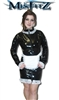 MISFITZ PVC MISTRESS MAIDS DRESS