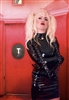 MISFITZ PVC BUCKLE STRAITJACKET DRESS