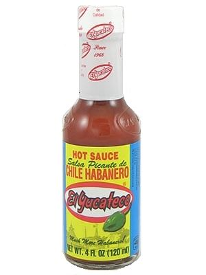 El Yucateco Salsa Picante de Chile Habanero Red