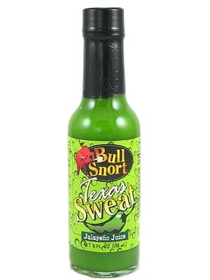 Bull Snort Texas Sweat Hot Sauce