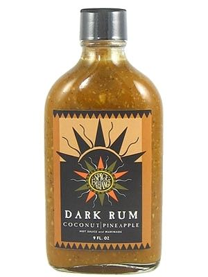 Spice Exchange Dark Rum Coconut Pineapple Hot Sauce