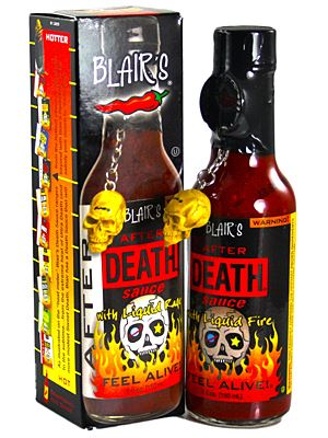 Blair's After Death with Chipotle Hot Sauce