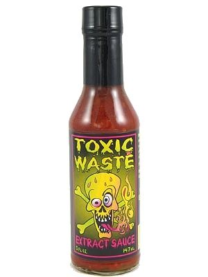 Toxic Waste Extract Hot Sauce